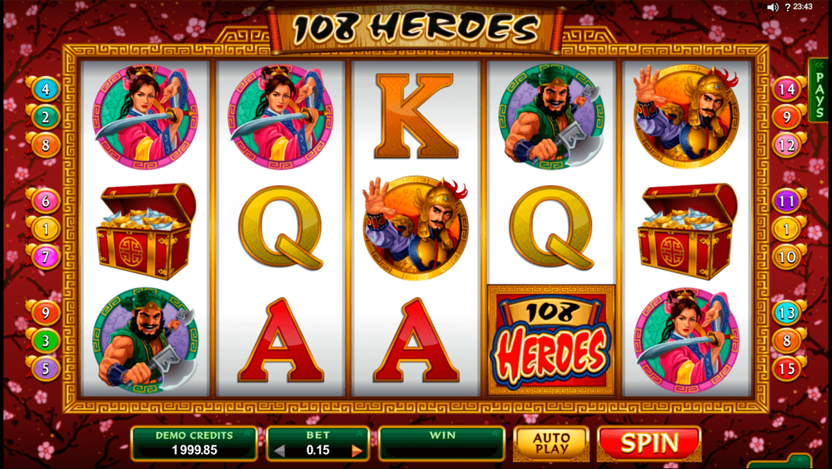 108 heroes microgaming machine a sous