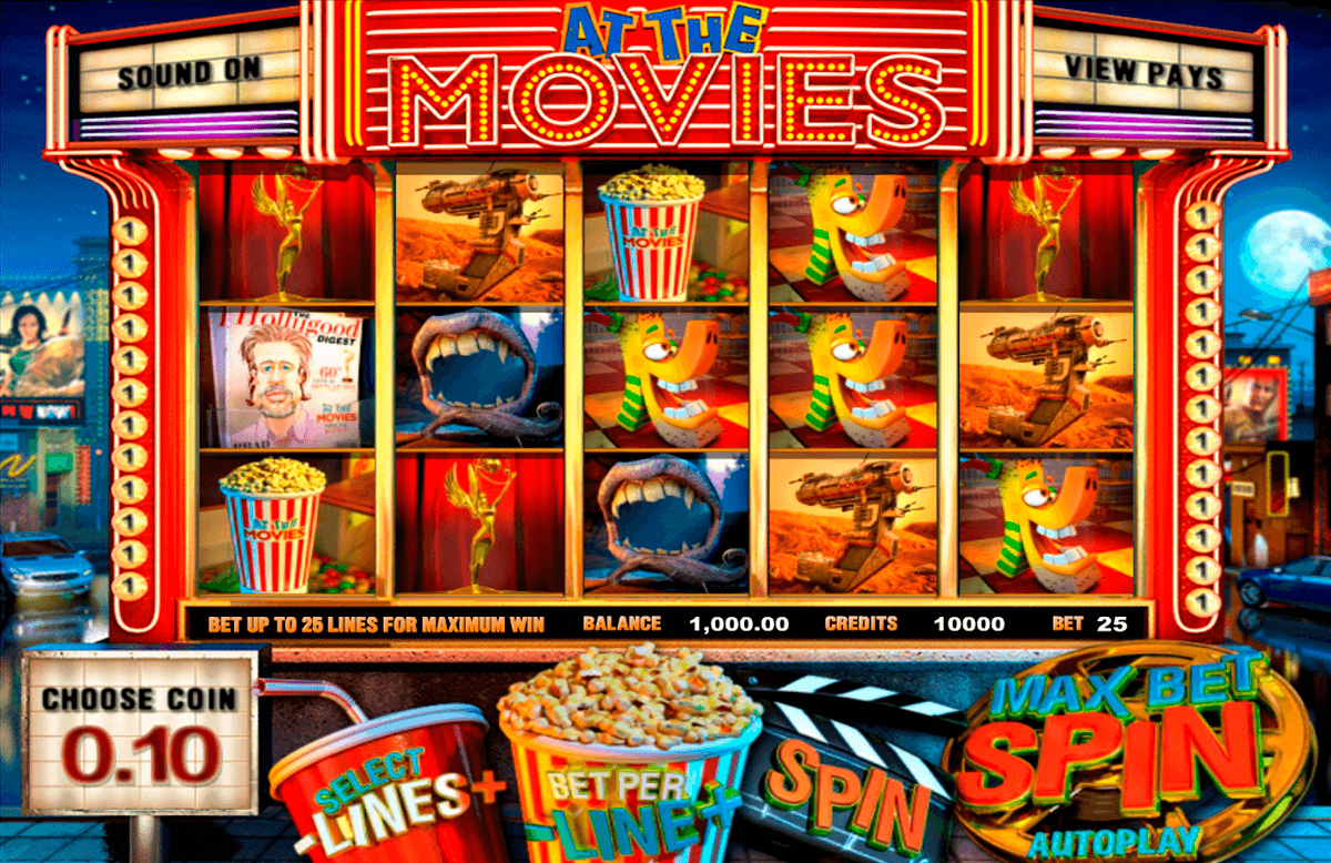 At the movies betsoft machine a sous