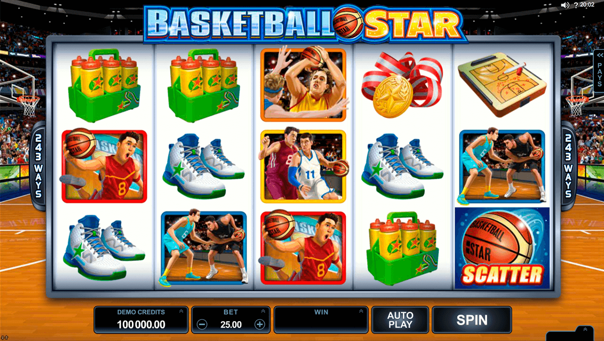 Basketball star microgaming machine a sous