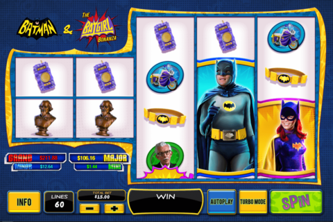 Batman the batgirl bonanza playtech machine a sous