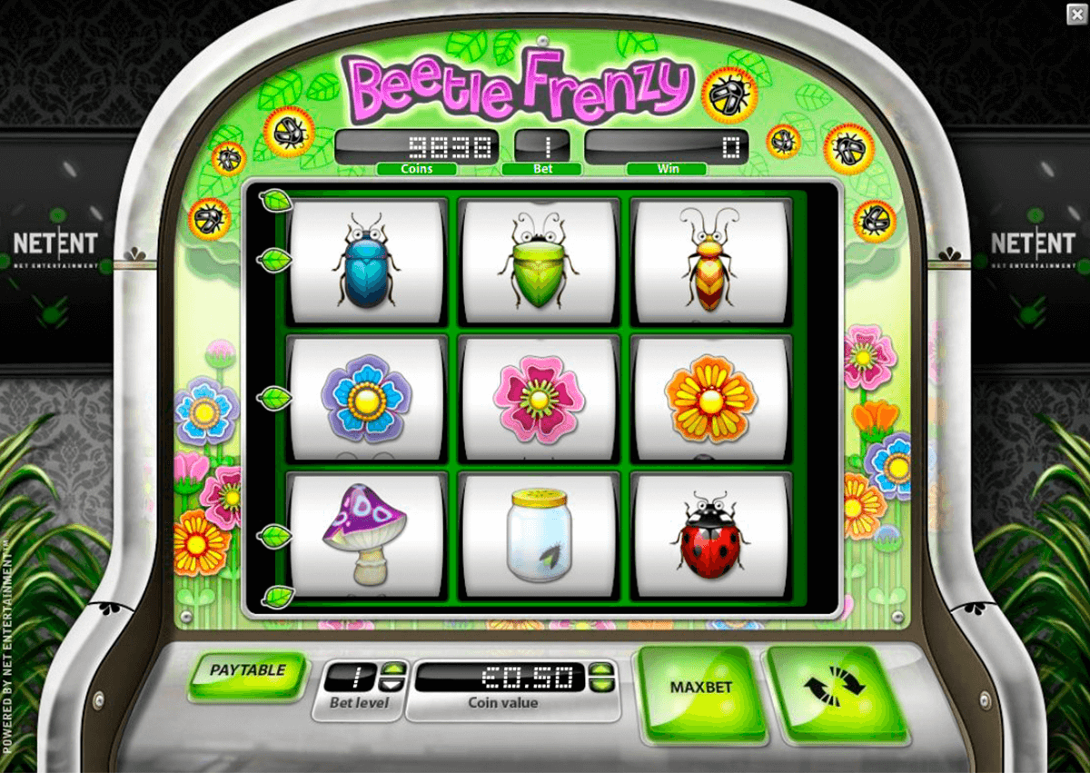 Beetle frenzy netent machine a sous