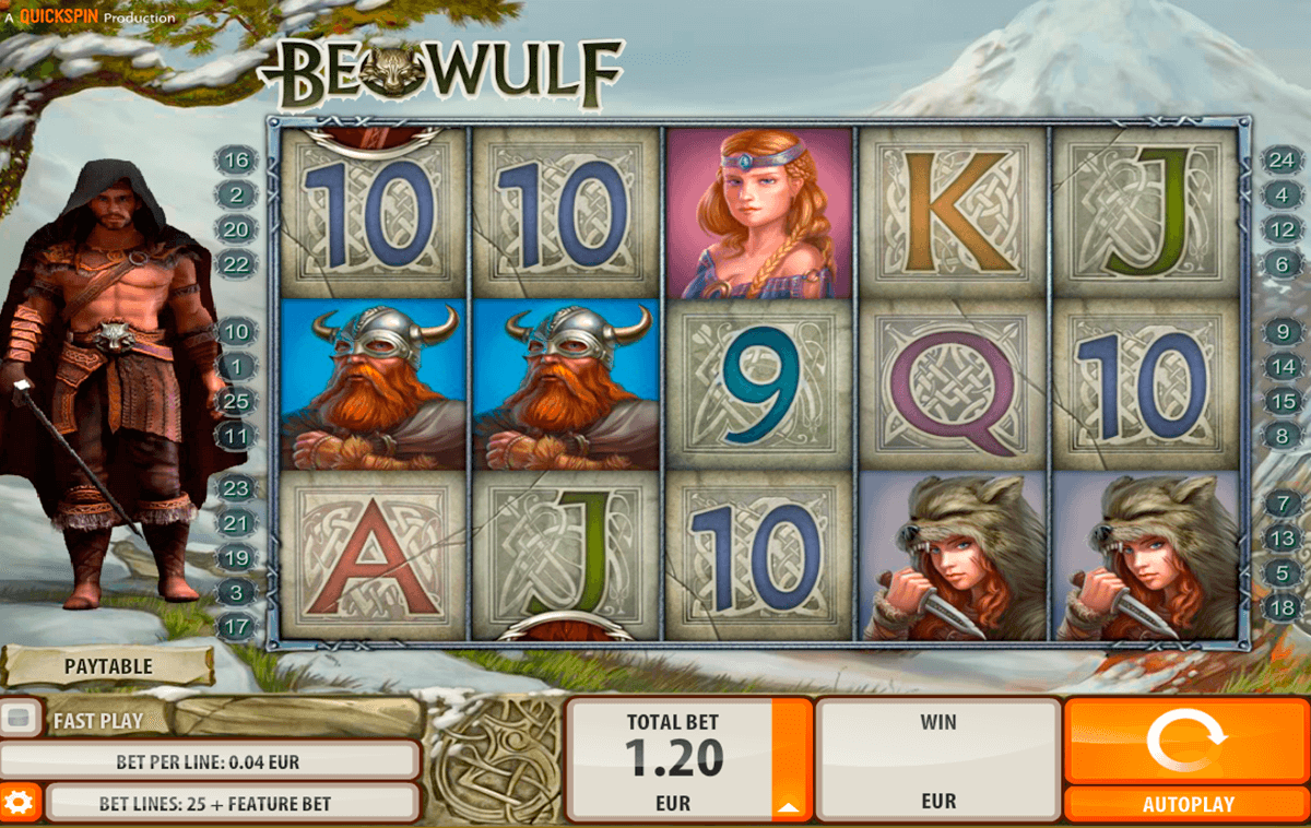 Beowulf quickspin machine a sous
