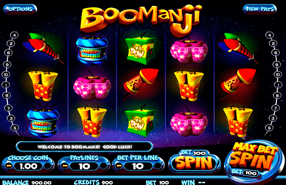 Boomanji betsoft machine a sous