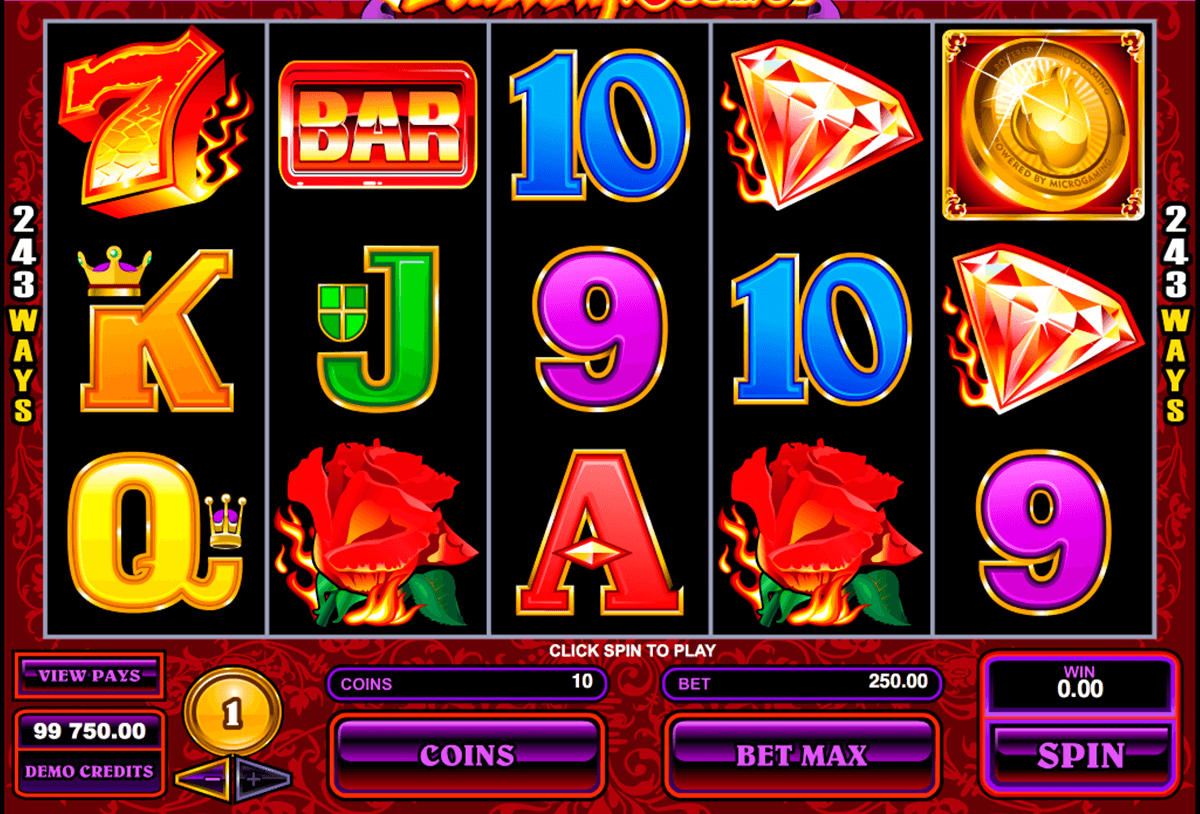 burning desire microgaming machine a sous