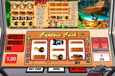 Captain cash betsoft machine a sous