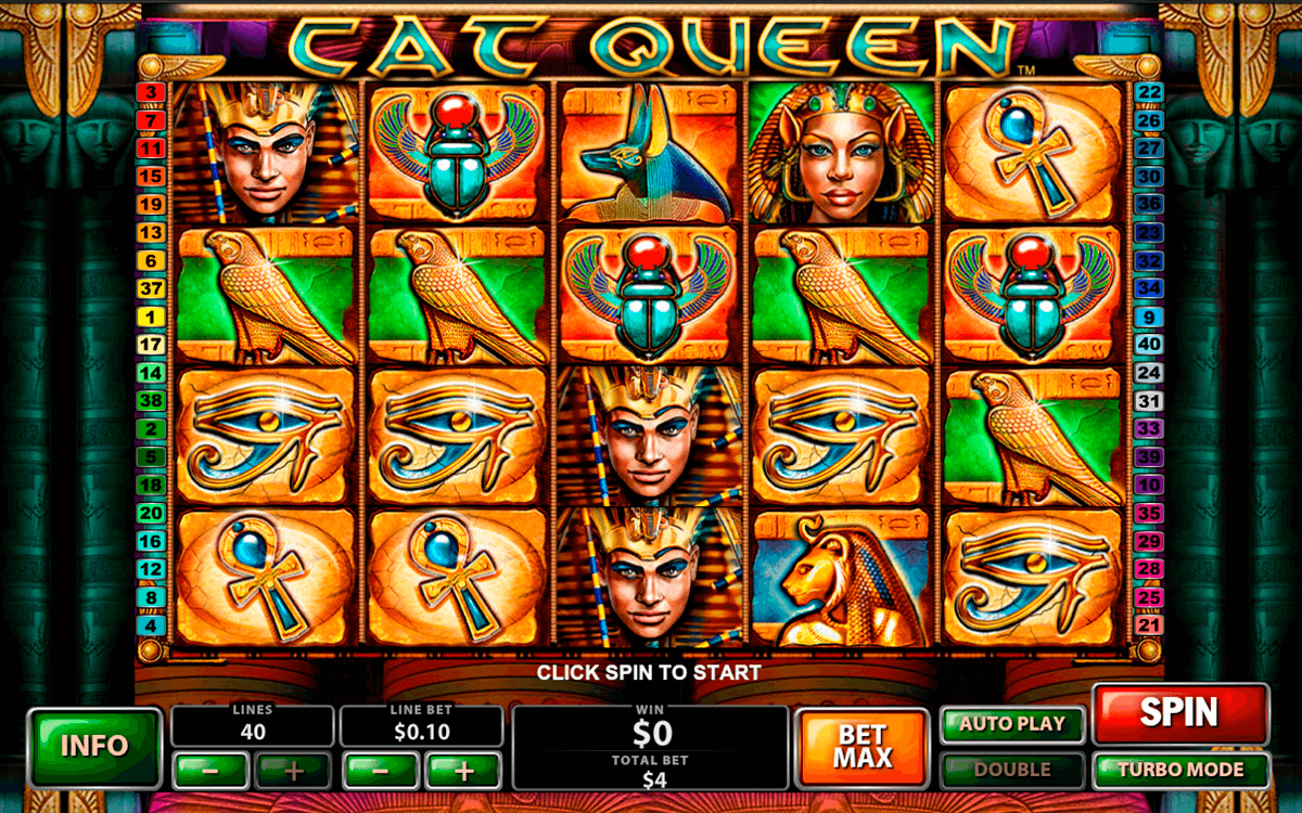 Cat queen playtech machine a sous