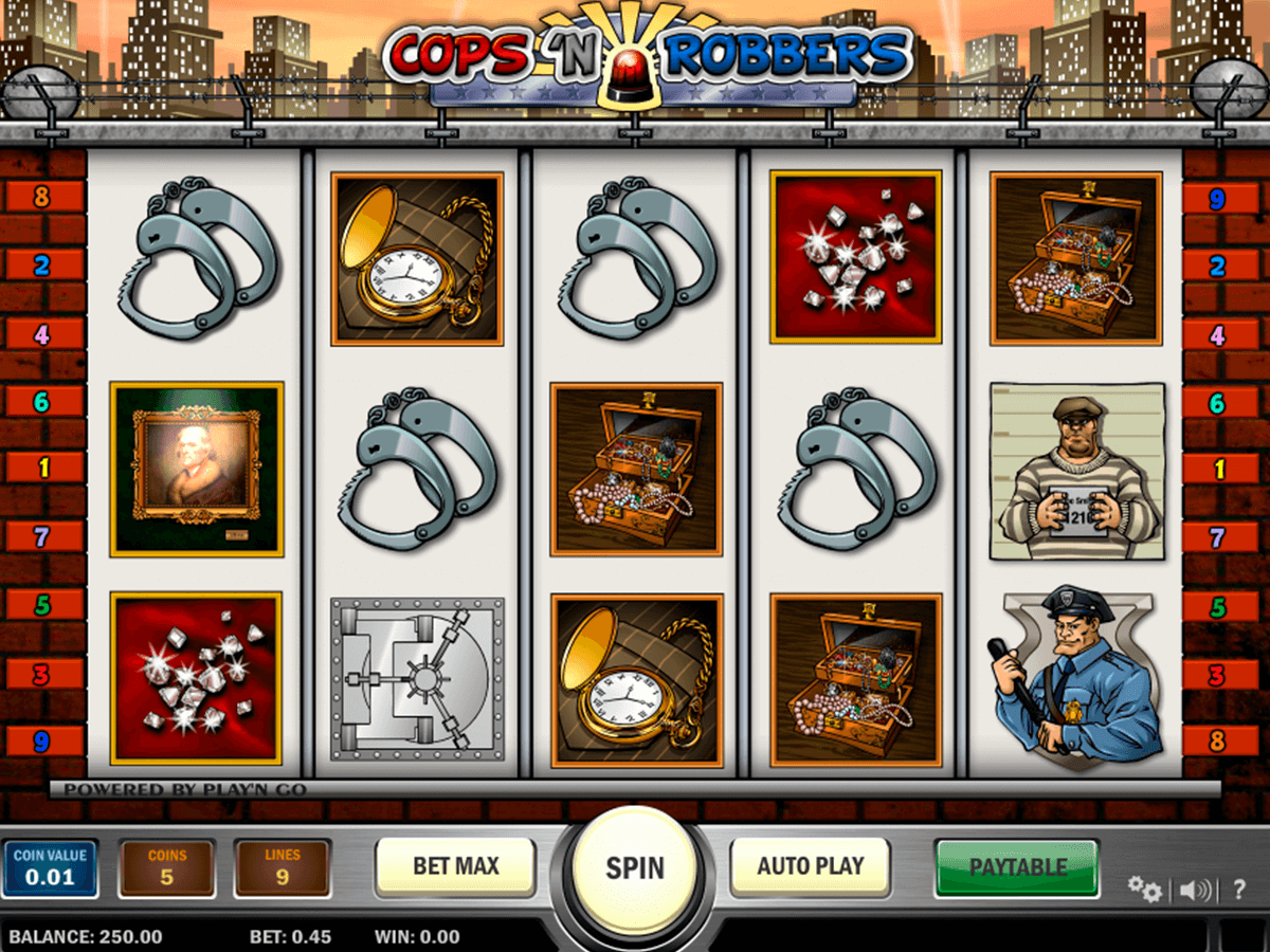 cops n robbers playn go machine a sous