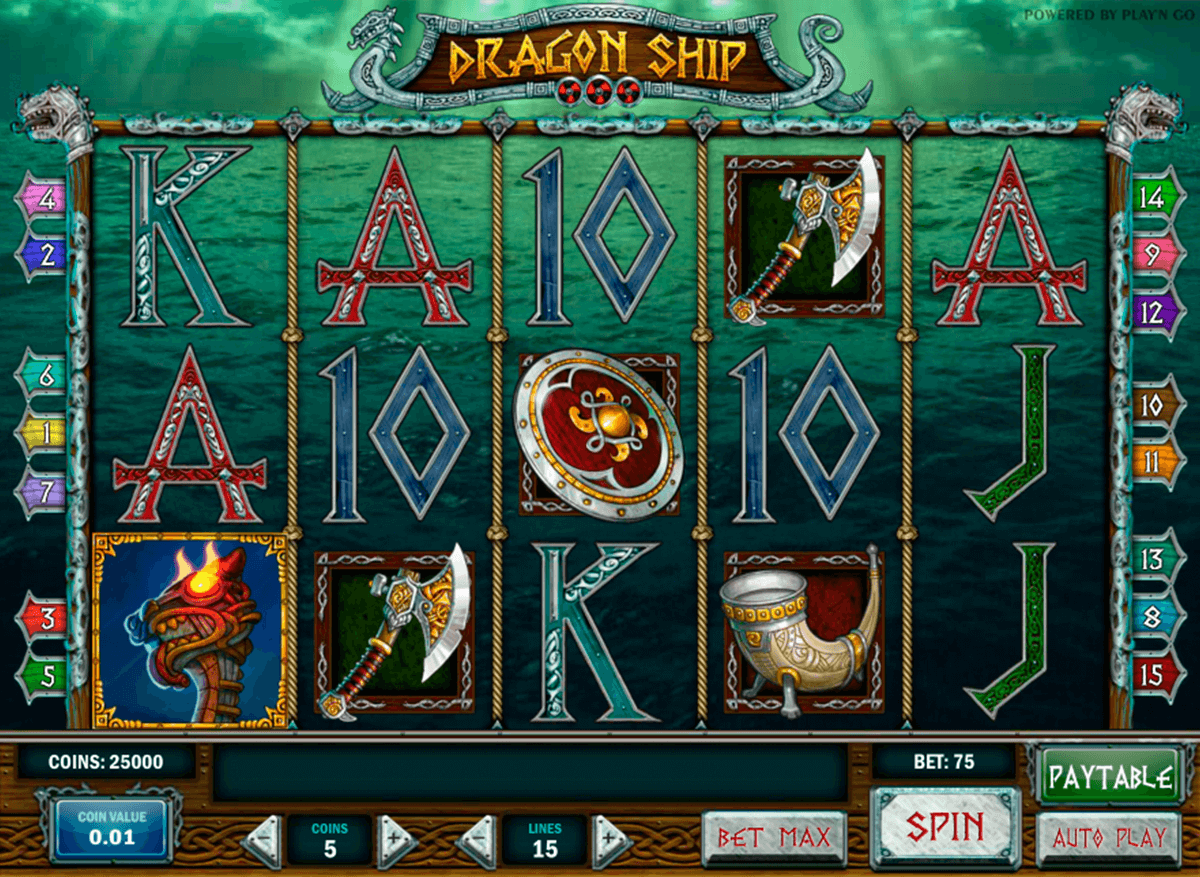 Dragon ship playn go machine a sous