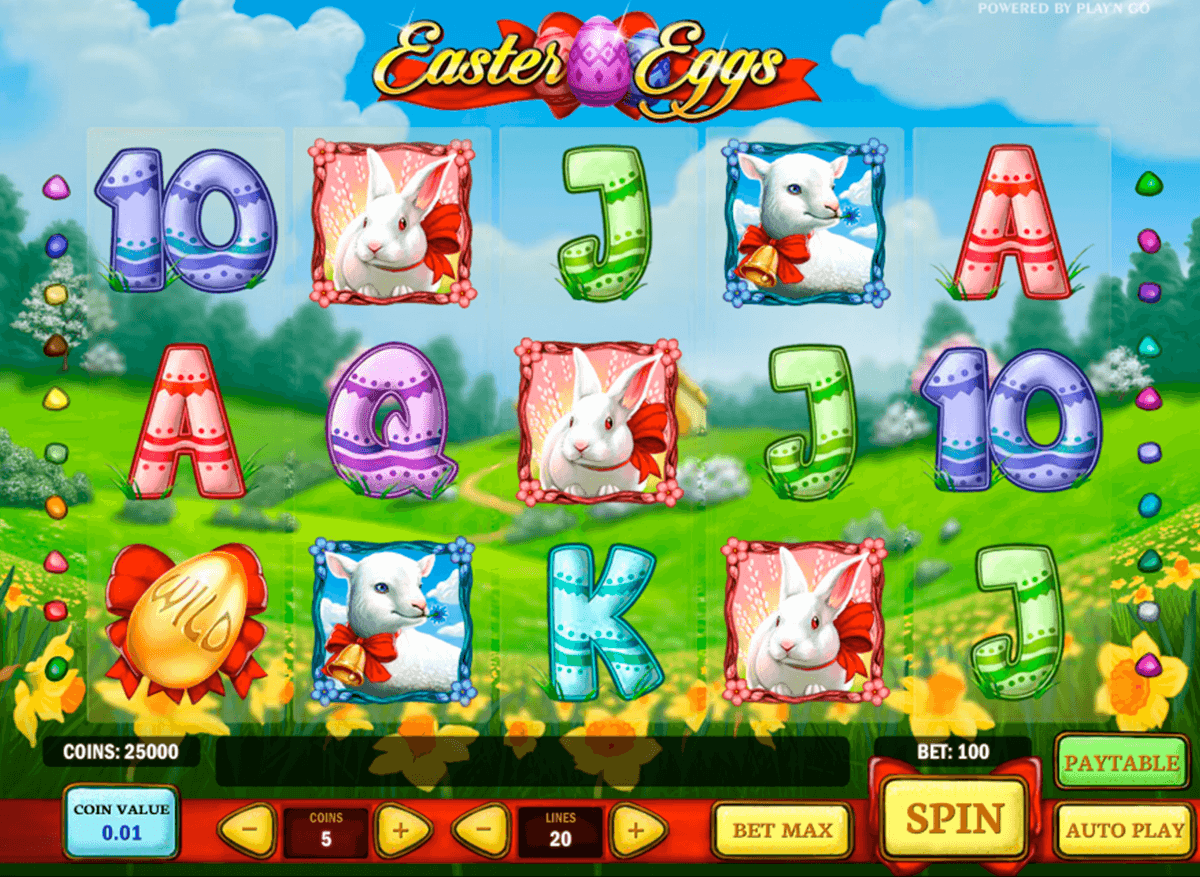 easter eggs playn go machine a sous
