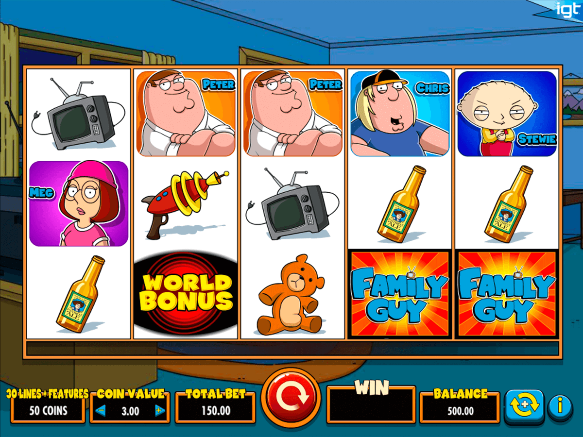 family guy igt machine a sous