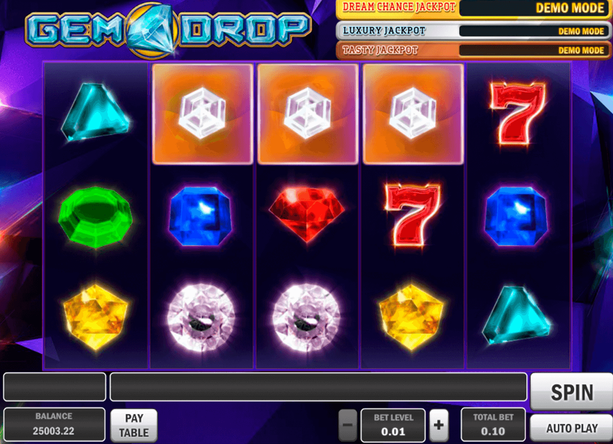 gem drop playn go machine a sous