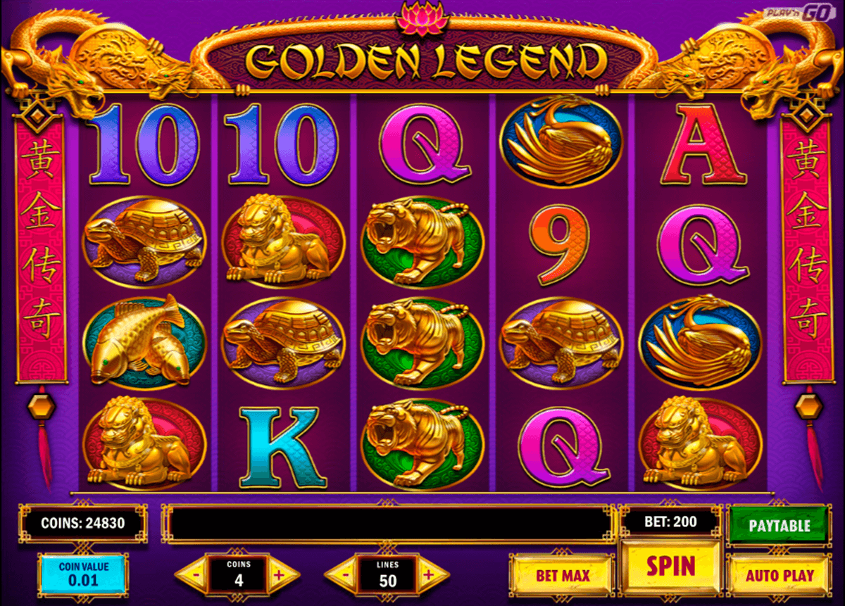Golden legend playn go machine a sous