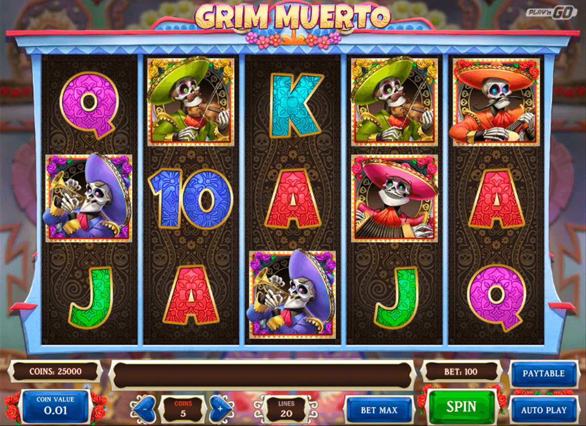 grim muerto playn go machine a sous