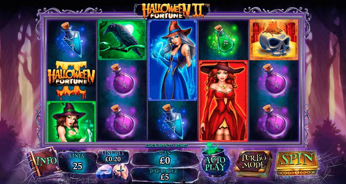 Halloween fortune ii playtech machine a sous