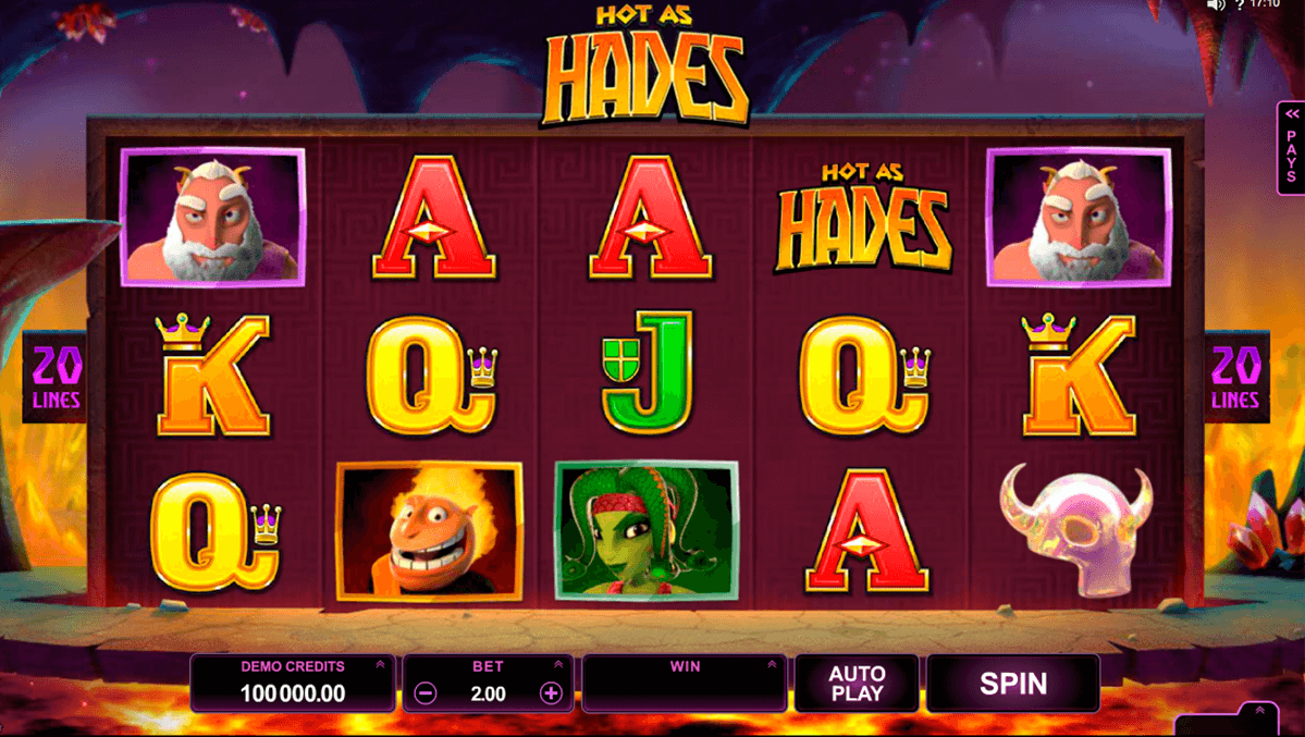 Hot as hades microgaming machine a sous