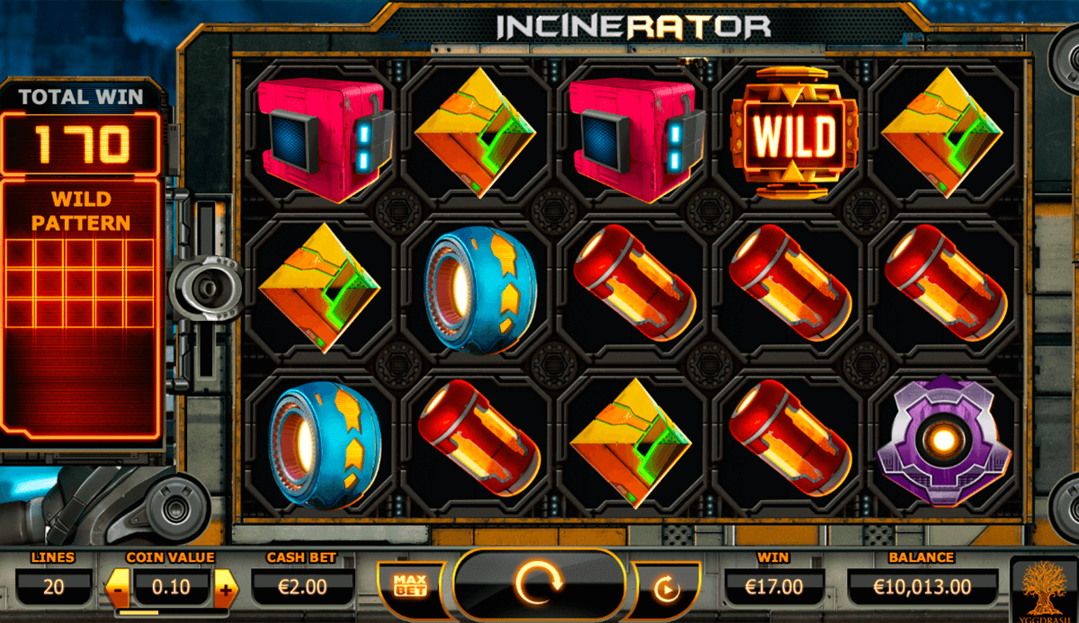 Incinerator yggdrasil machine a sous