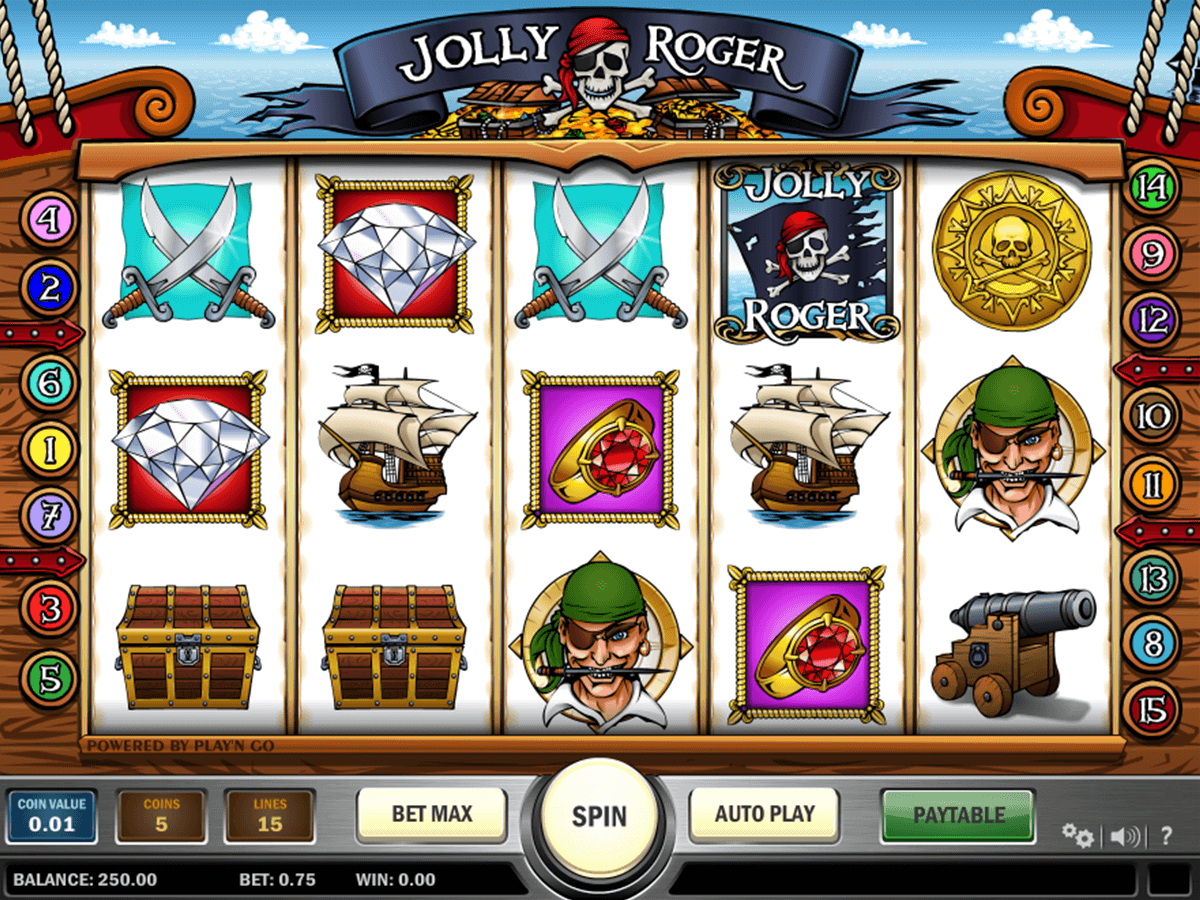 Jolly roger playn go machine a sous