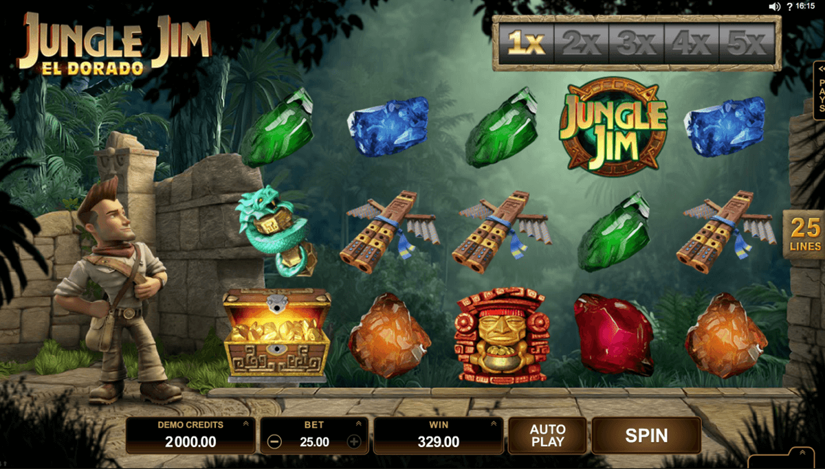 jungle jim el dorado microgaming machine a sous