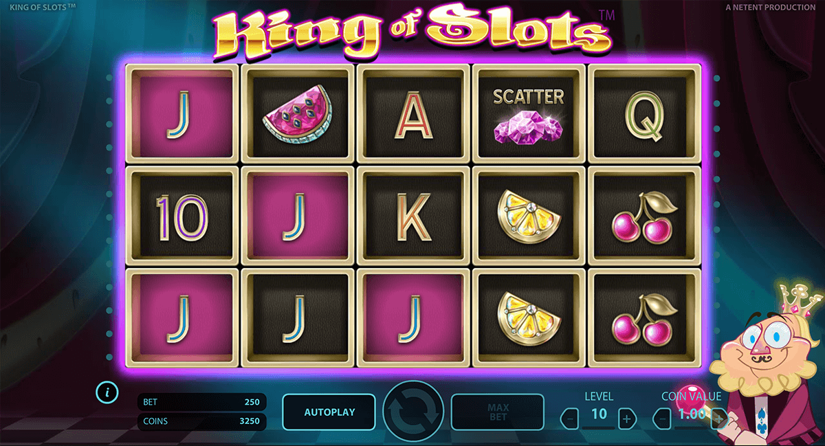 king of slots netent machine a sous