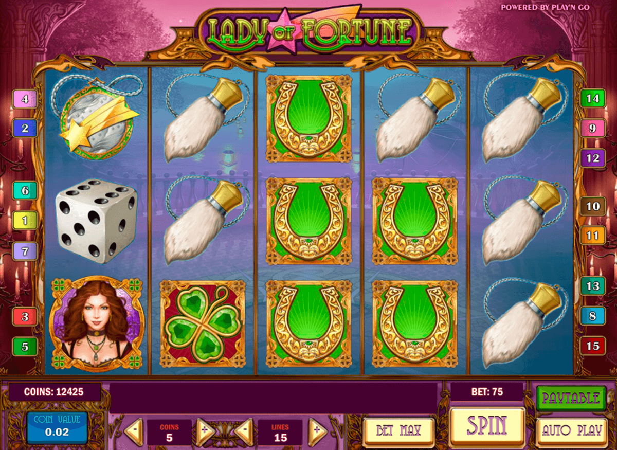 Lady of fortune playn go machine a sous