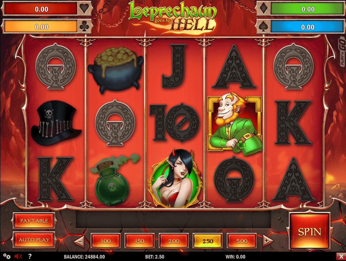 leprechaun goes to hell playn go machine a sous