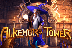 Logo alkemors tower betsoft jeu casino