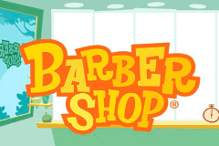 Logo barber shop thunderkick jeu casino