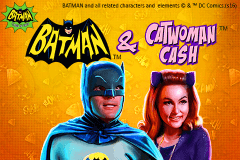 Logo batman catwoman cash playtech jeu casino