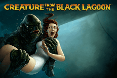 Logo creature from the black lagoon netent jeu casino