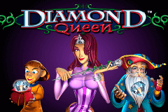 Logo diamond queen igt jeu casino