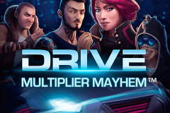 Logo drive multiplier mayhem netent jeu casino