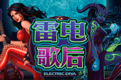 Logo electric diva microgaming machine a sous