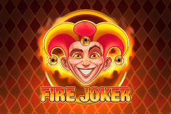 Logo fire joker playn go jeu casino
