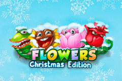 Logo flowers christmas edition netent jeu casino