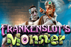 logo frankenslots monster betsoft jeu casino
