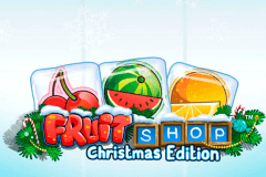 Logo fruit shop christmas edition netent jeu casino