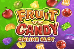 logo fruit vs candy microgaming jeu casino