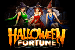 Logo halloween fortune playtech jeu casino