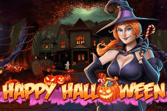 Logo happy halloween playn go jeu casino