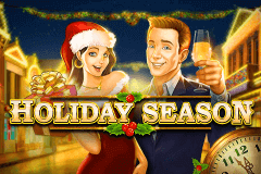 Logo holiday season playn go jeu casino