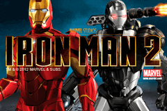 Logo iron man 2 playtech jeu casino