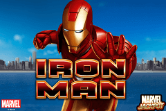 Logo iron man playtech jeu casino