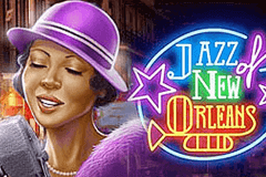 Logo jazz of new orleans playn go jeu casino