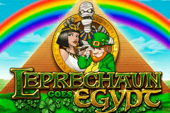Logo leprechaun goes egypt playn go jeu casino