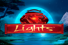 Logo lights netent jeu casino