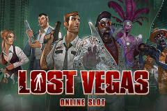 Logo lost vegas microgaming jeu casino