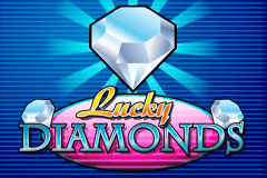 Logo lucky diamonds playn go jeu casino