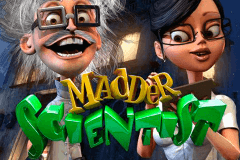 Logo madder scientist betsoft jeu casino