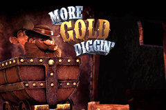 Logo more gold diggin betsoft jeu casino