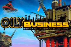 Logo oily business playn go jeu casino